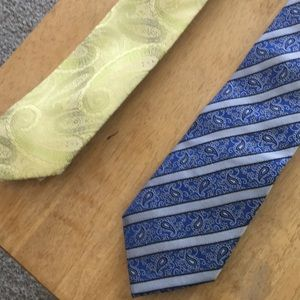 Other - 2 Sharp Paisley Ties